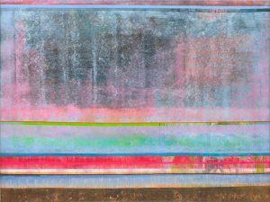 Aruna Samivelu, 20180601, Acryl auf Jute, 150 × 200 cm; Foto: Bernd Borchardt